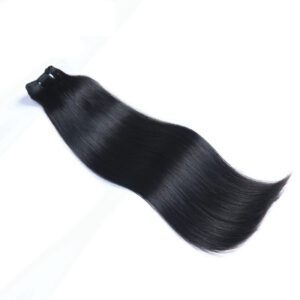 Double Drawn Remy Hair Weave in hair bundle