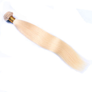 blonde straight hair weave