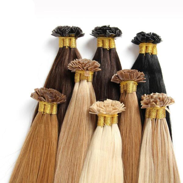 Remy Human Hair Flat tip Hair extension