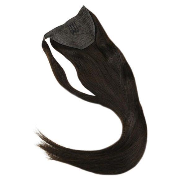 human hair ponytail hair extention